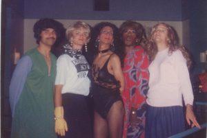 The Flirts on Halloween 1991 in Boston