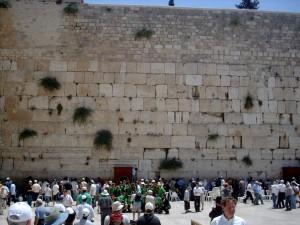 """'The Western (""""Wailing"""") Wall in Jerusalem"""